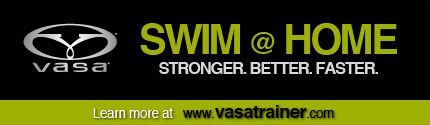 Swim at home Stronger Better Faster Learn More at vasatrainer.com