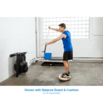 indoor SUP paddle and balance training