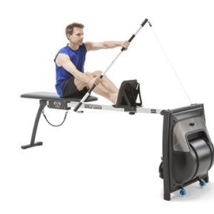 Kayak paddling exercise on Vasa Swim Erg