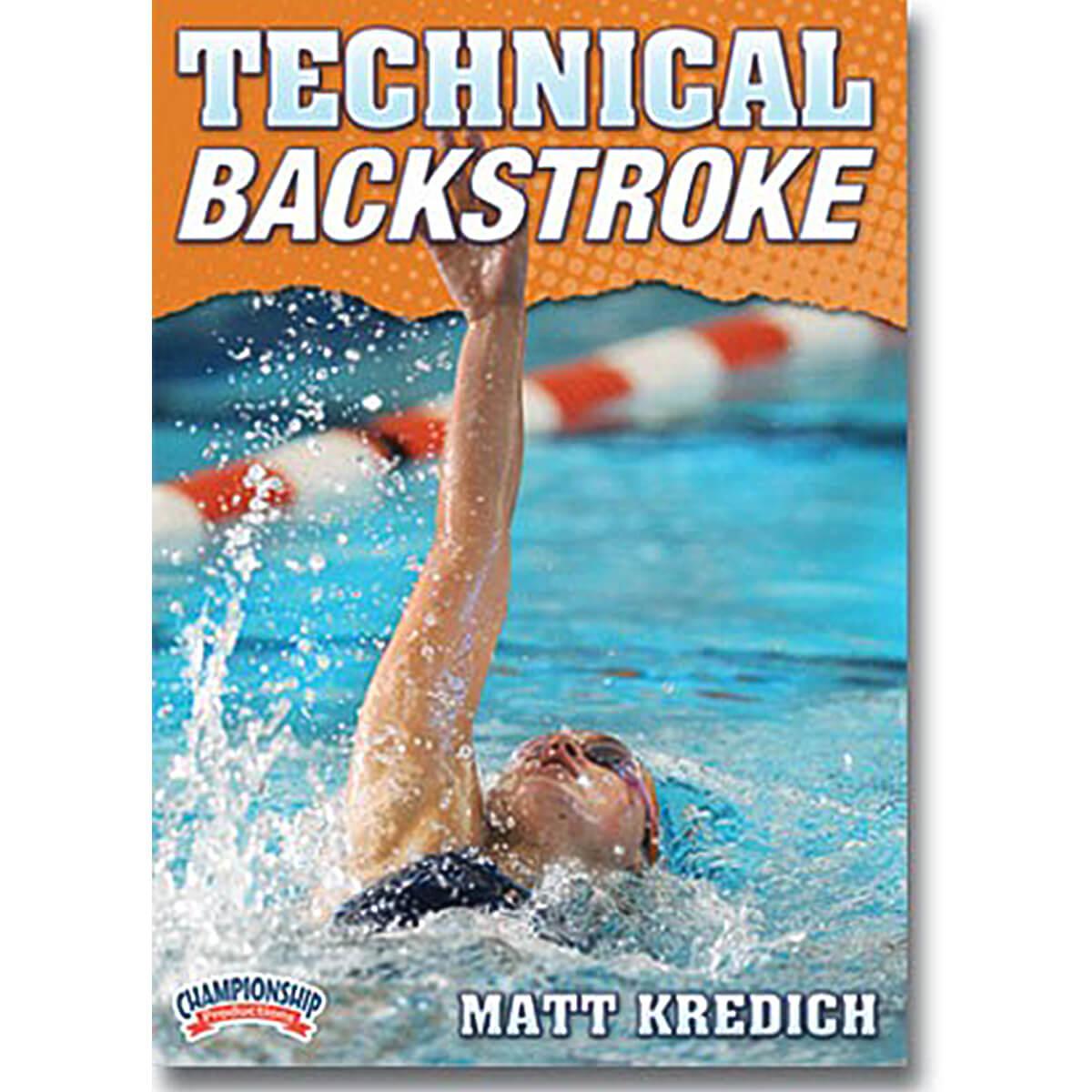 Championship DVD jacket video on technical backstroke