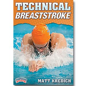 Championship DVD jacket video on technical breaststroke