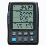 Power Meter Monitor with green LCD