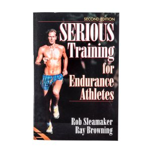 book serious training for endurance athletes man running