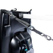 nylon strap with clip on Swim Erg machine