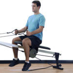Weight bracket offers extra resistance to Vasa Trainer - video link