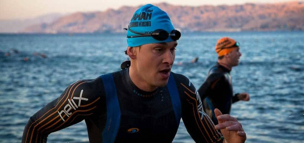 Ben Greenfield Ironman swim