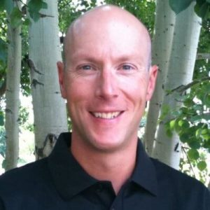 White Male in black shirt