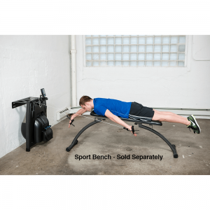 Vasa Space saving ergometer with removable bench system
