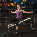 Perform a chest fly using Vasa Trainer