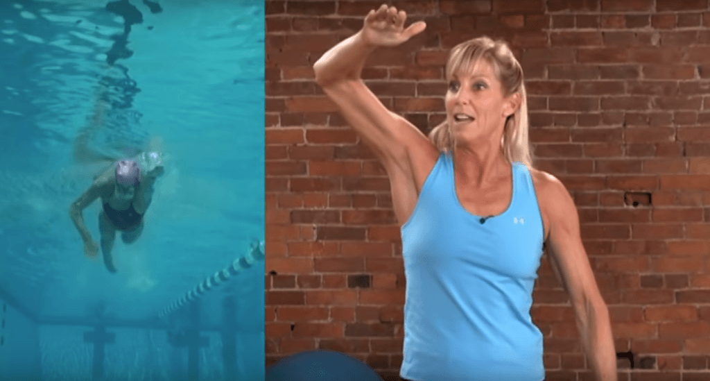 swimming power - where to apply power in the freestyle stroke