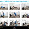 Vasa SpaceSaver Exercise Poster