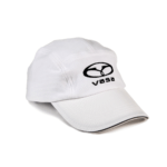 Vasa performance race hat in white
