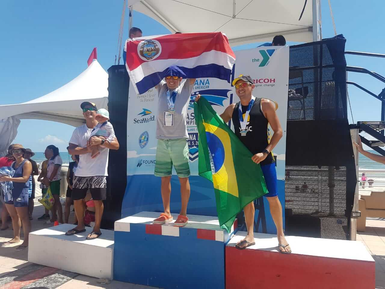 Bob Garcia podium