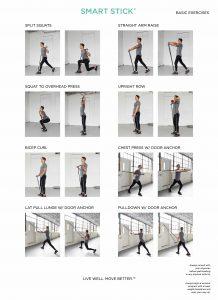SMART STICK exercises
