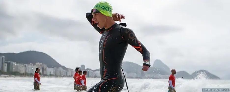 Paralympic triathlon training involves the Vasa SwimErg