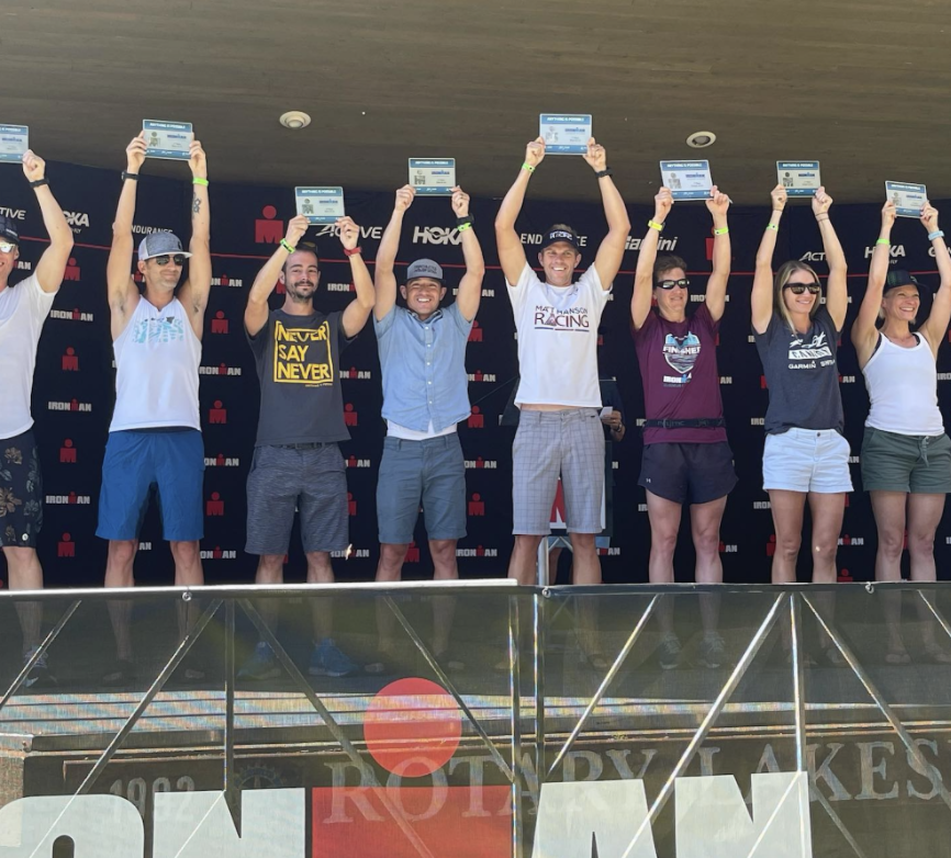 Ironman Podium